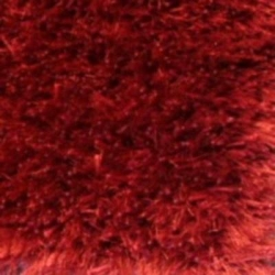 INDIAN POLY MIX SHAGGY RED 75X200