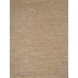 LEATHER KILIM  BEIGE/GOLD 160X230