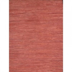 LEATHER KILIM  RED 160X230
